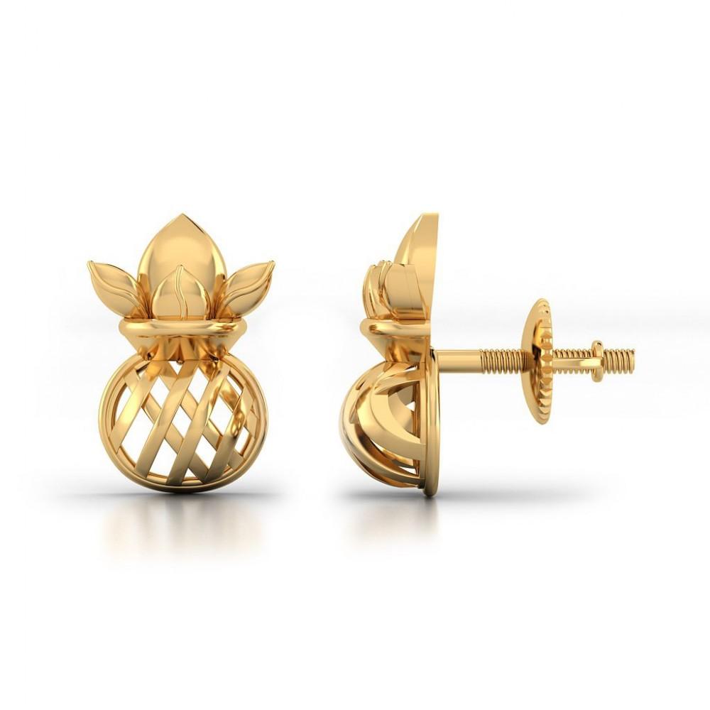 Kanak Gold Earring