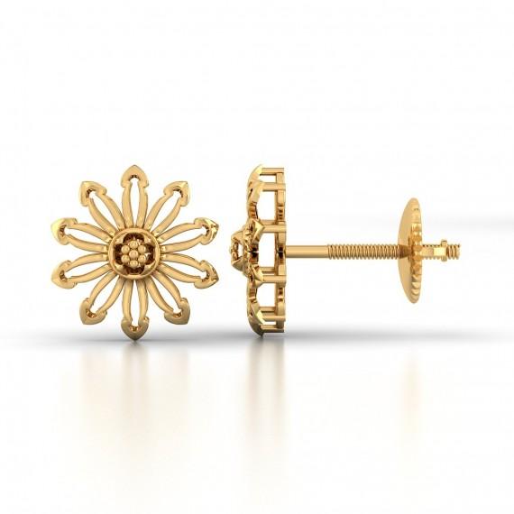 Bellatrix Gold Earring