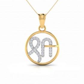 Shri Circle Pendant