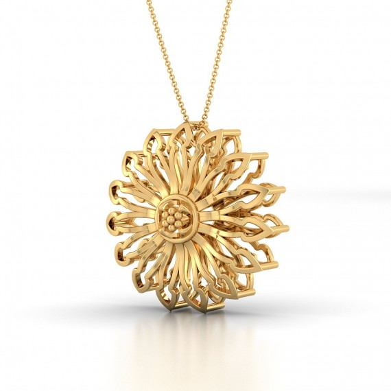 Bellatrix Gold Pendent