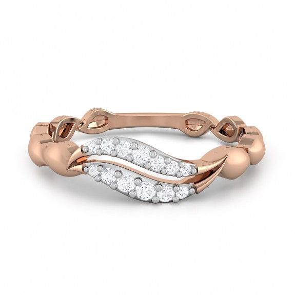 Folium Diamond Ring