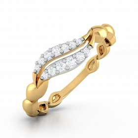 Folium Diamond Ring