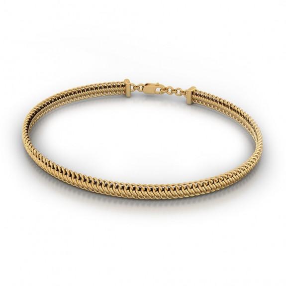 Maze Gold Bracelet