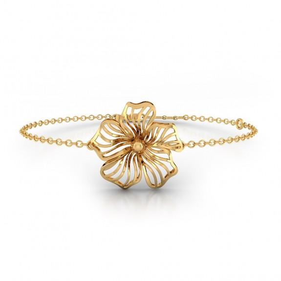 Sylvie Gold Studs Bracelet