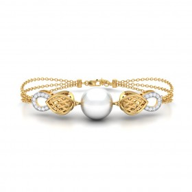 Brianna Gold Diamond Bracelet