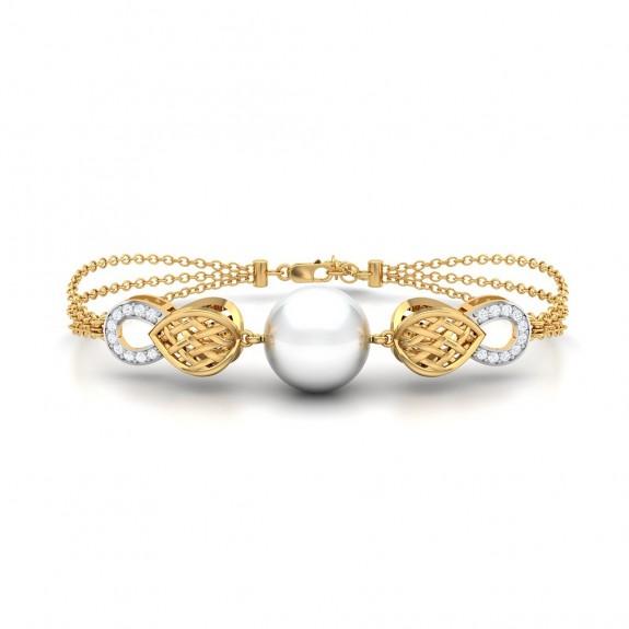 Brianna Gold Diamond Bracelet