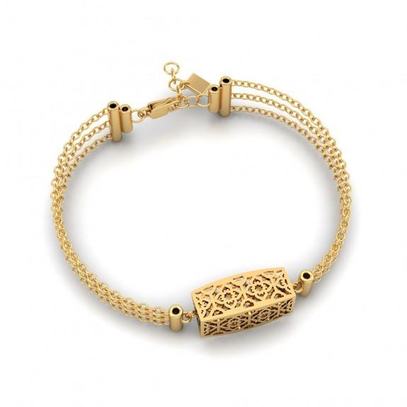 Hattie Gold Bracelet