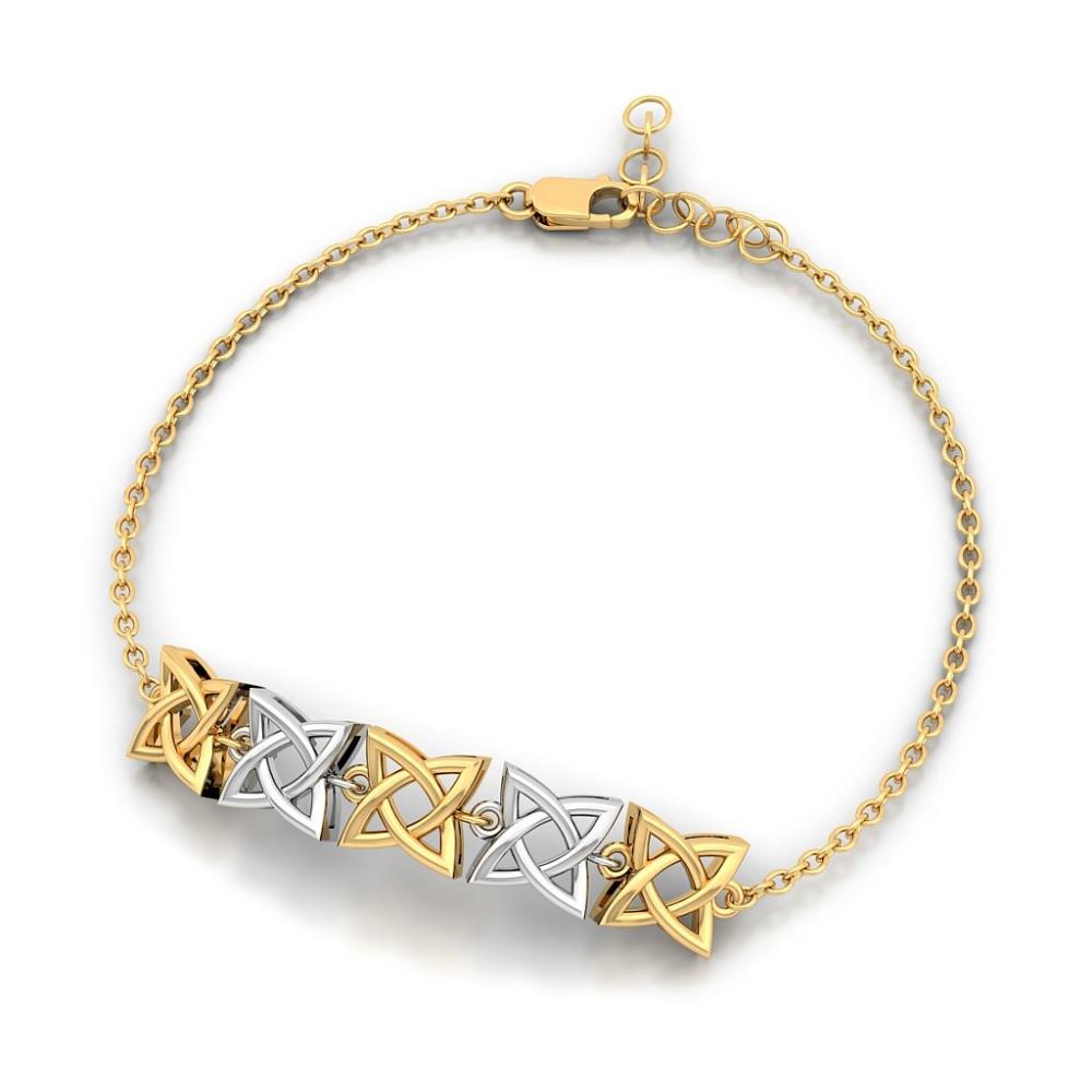 Infinitude Gold Bracelet