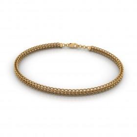 Snarl Gold Bracelet