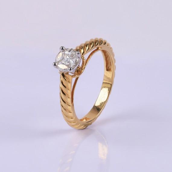 Princess Diamond Ring