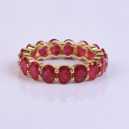 Vertical ruby ringband