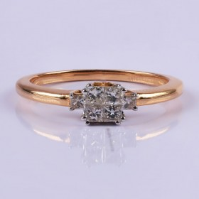 Elegant princess ring