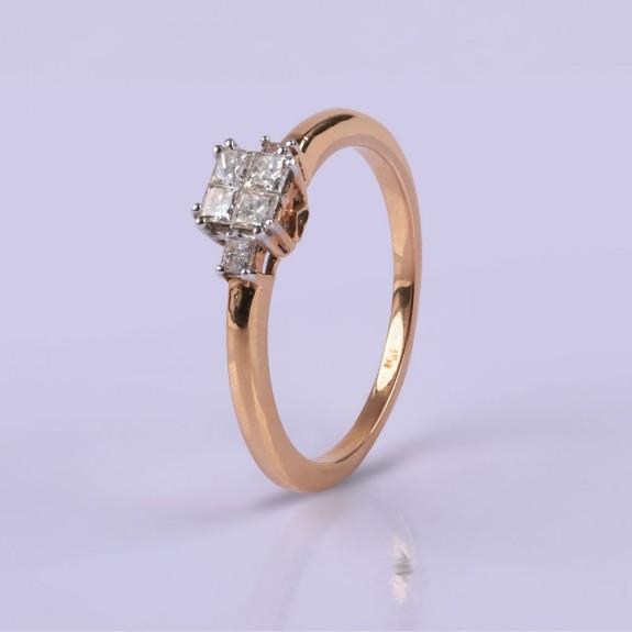 Elegant princess ring