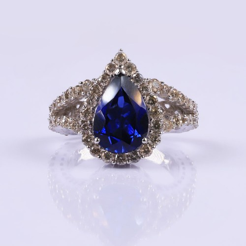 Royal blue ring Ring