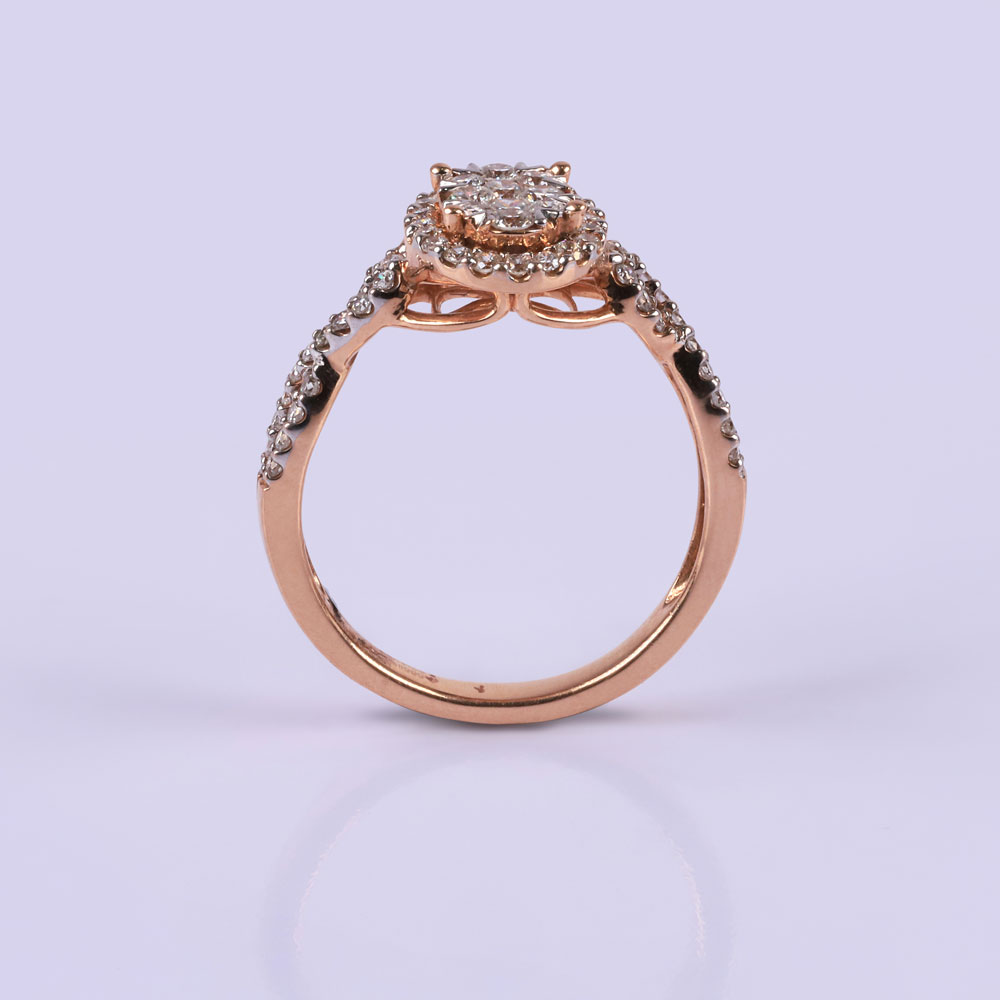 Brilliant Twirl Ring