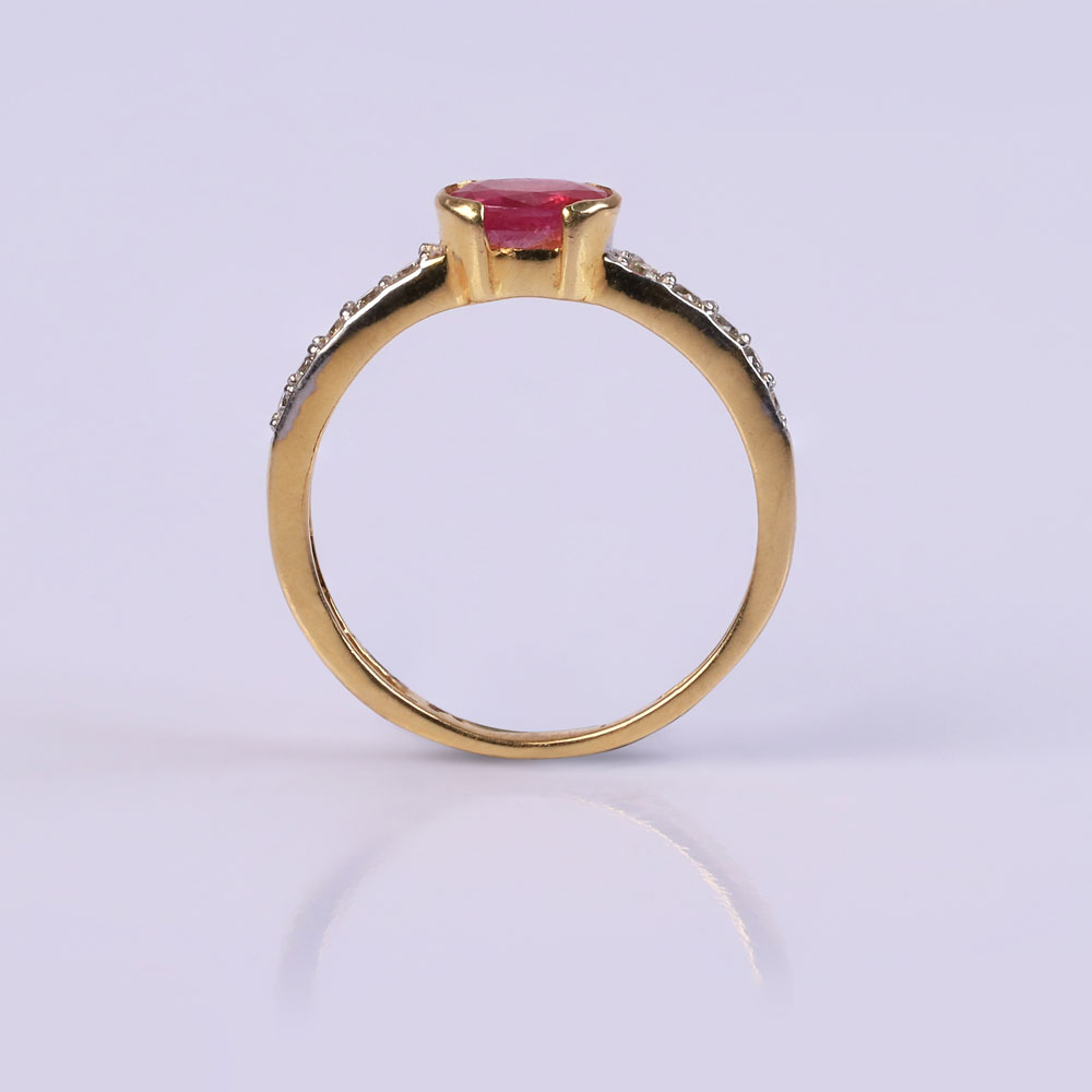 The charming woman ring