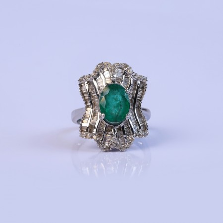 Eternity Band Diamond Ring