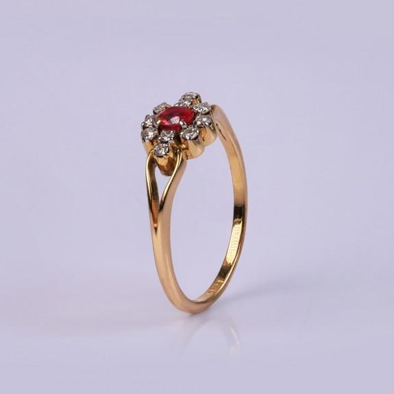 Wedding Ruby Ring