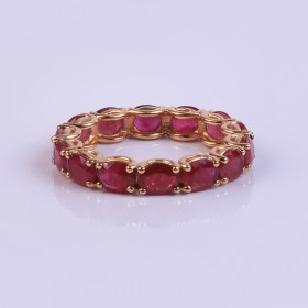 Wedding Vintage Ruby Ring