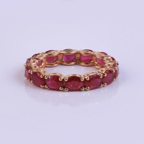 Wedding Vintage Ruby Ring