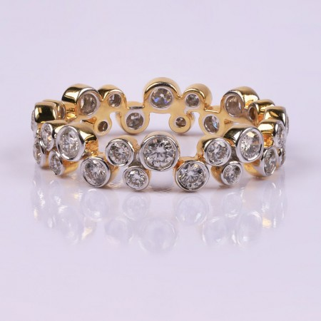 Raindrops diamond ring