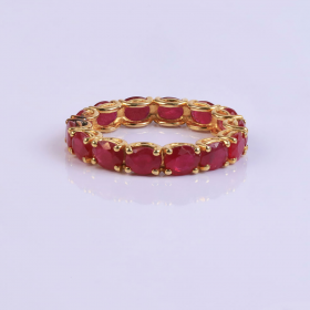 Horizontal Ruby Ringband