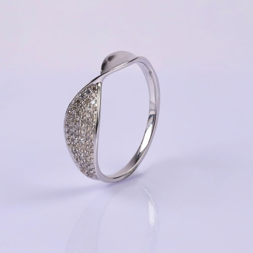 Arctic Fan Tiara Ring