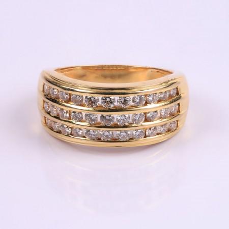 Brilliant Eye Ornament Ring