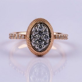 Rosegold standout ring
