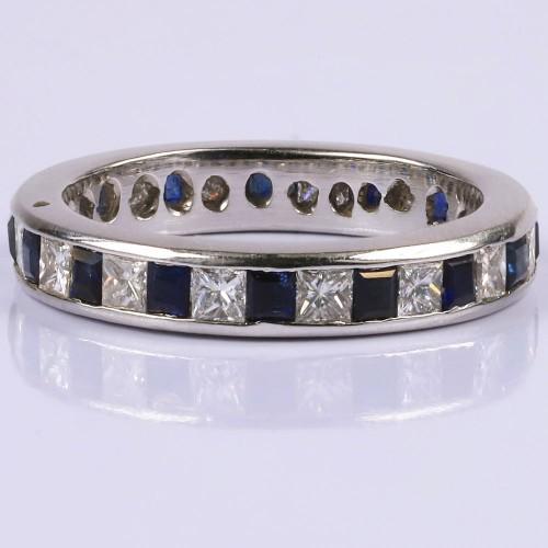Multicolour gemstone ring