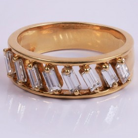 Octa Diamond ring