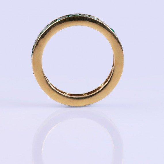 Green and gold ringband